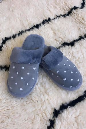 Starry Night Slippers Dove