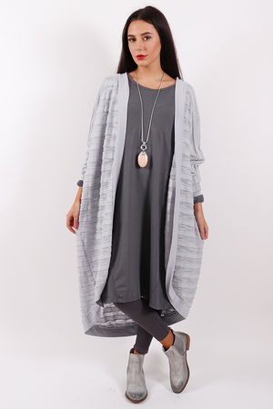 Stockholm Textured Cardigan Dove