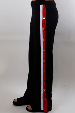Stripe Popper Track Pant