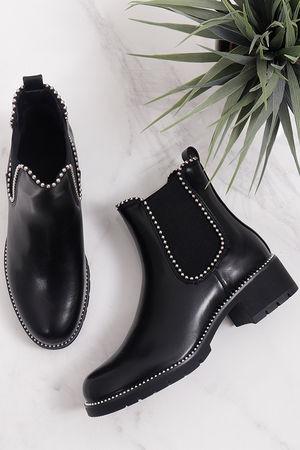 Stud Boots Black