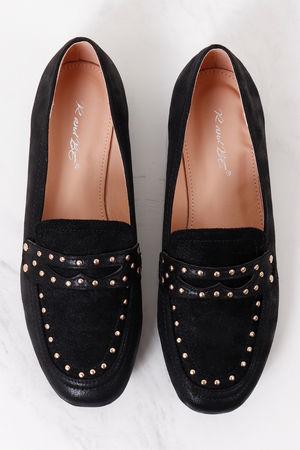Stud Loafer Black