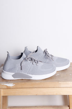 Super Knits Pump Grey