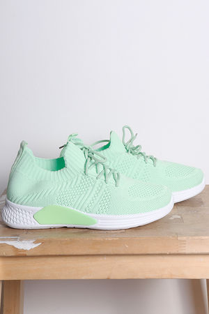 Super Knits Pump Mint