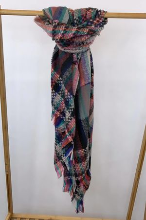 Super Scotch Scarf Blush