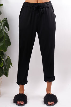 Super Soft Jogger Pants Black