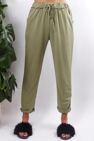 Super Soft Jogger Pants Green