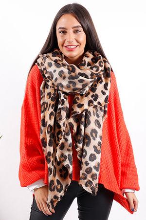 Super Soft Leopard Scarf