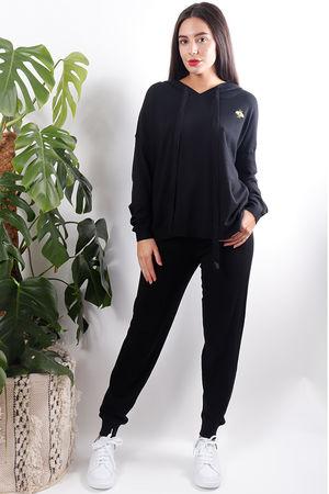 Super Soft Luxury Loungewear Set Black