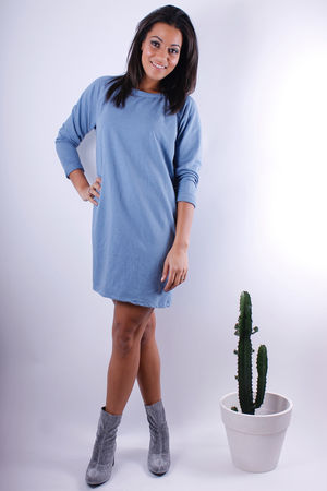 Sweater Tunic Denim