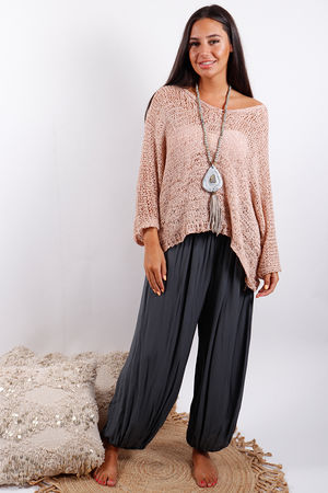 Textured Knit Rose