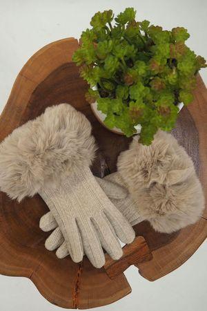 The Aspen Gloves Ecru