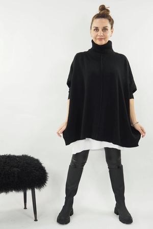The Classic Blanket Knit Black