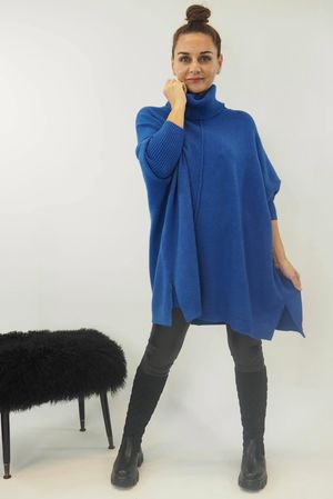 The Classic Blanket Knit Cobalt