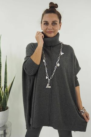 The Classic Blanket Knit Graphite