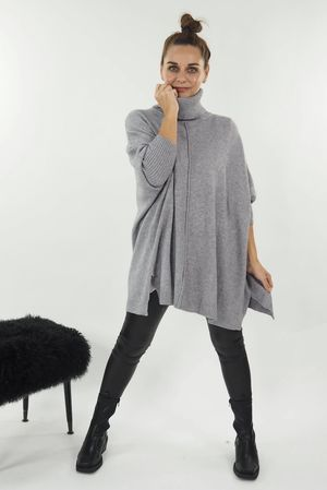 The Classic Blanket Knit Grey Marl