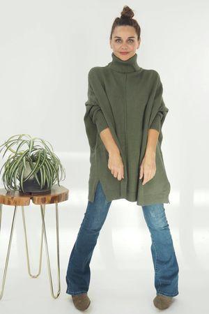 The Classic Blanket Knit Khaki