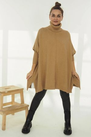 The Classic Blanket Knit Soft Tan