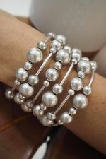 The DNA Bracelet Silver