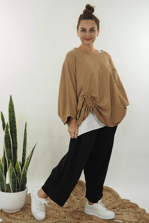 The Hitchcock Oversized Slouch Soft Tan