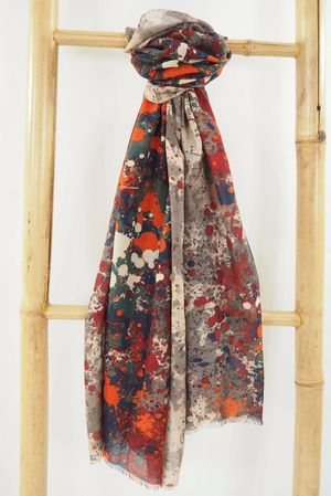 The Jackson Scarf Naturals and Rioja