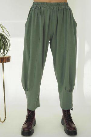 The Jo Jo Quirky Cocoon Pant Khaki