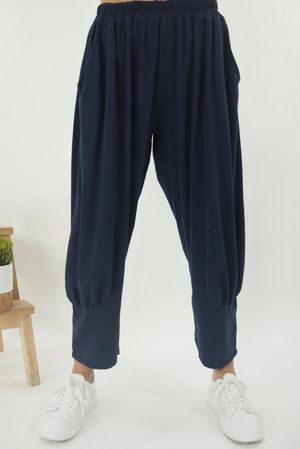 The Jo Jo Quirky Cocoon Pant Navy