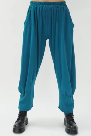 The Jo Jo Quirky Cocoon Pant Petrol