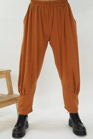 The Jo Jo Quirky Cocoon Pant Tobacco