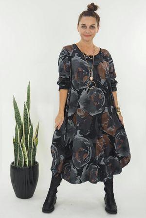 The Monet Dress Black