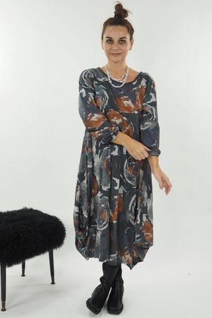 The Monet Dress Graphite