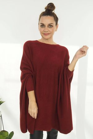 The Oversized Star Blanket Knit Rioja