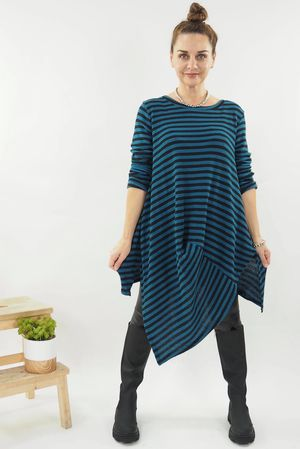 The Quirky Breton Top Petrol