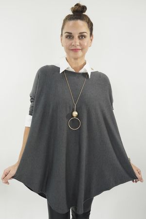 The Scoopy Knit Graphite