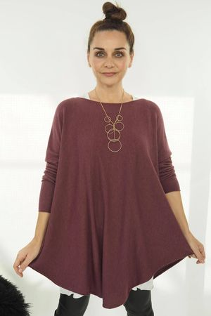 The Scoopy Knit Mulberry