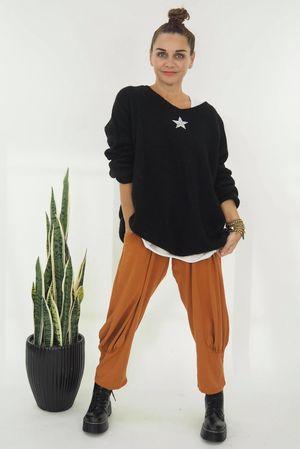 The Shining Star Knit Black