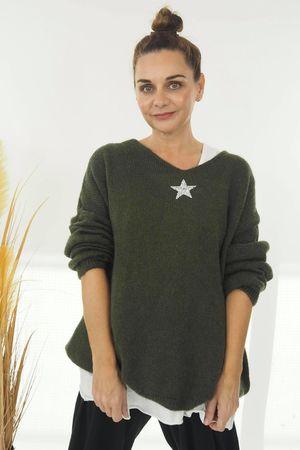 The Shining Star Knit Khaki