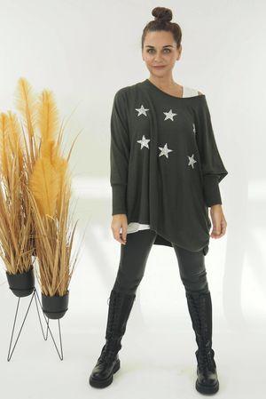 The Six Star Knit Khaki