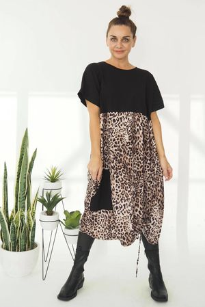 The Slinky Leopard Hitch Dress