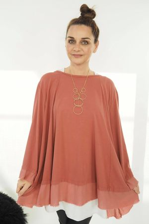 The Swing Out Sister Top Terracotta Rose
