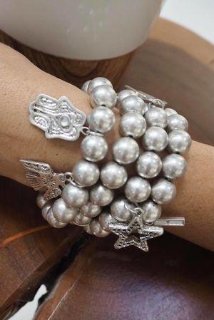 The Symbols Charm Bracelet Silver