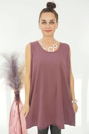 The Tank Vest Mulberry