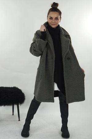 The Teddy Coat Khaki