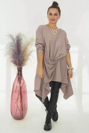 The Vivienne Top Dirty Lilac