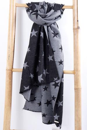 The All Star Scarf Grey