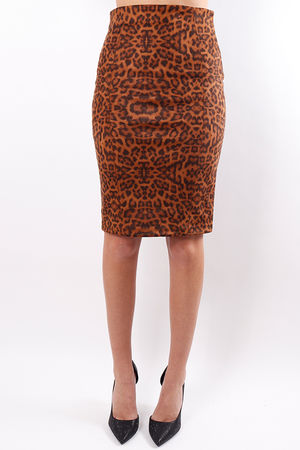 The Animal Print Skirt
