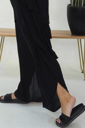 The Athena Two Piece Pant Black