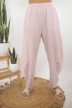 The Baby Cocoon Relaxed Sweat Pant Blush