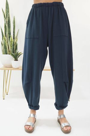 The Baby Cocoon Relaxed Sweat Pant Navy