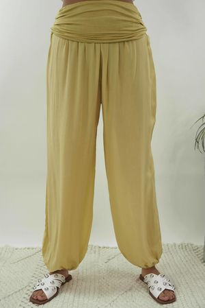 The Balloon Pant Soft Lime