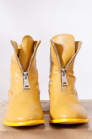 The Barbarella Boot Ochre